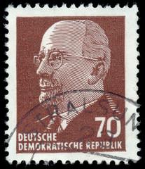 GERMAN DEMOCRATIC REPUBLIC - CIRCA 1961: A stamp printed in Germ