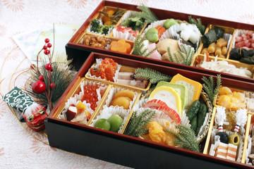 おせち料理 Japanese traditional New Year's dishes