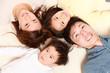 日本人4人家族