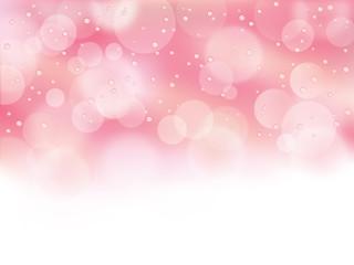ピンク_水滴