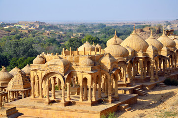 Bada Bagh in Jaisalmer,India