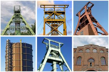 Industriekultur im RUHRGEBIET v. Dortmund bis Oberhausen