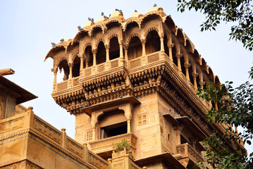 Salim Singh Ki Haveli in Jaisalmer,India