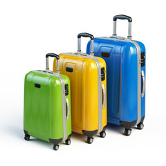 suitcases - travel, luggage icon