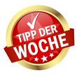 """Button mit Banner """" TIPP DER WOCHE """""""