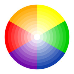 Farbkreis 6-farbig