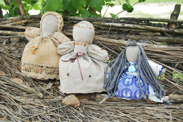 People rag dolls handmade