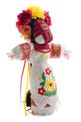Folk handmade doll.