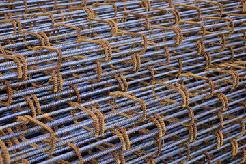 Rust steel rod