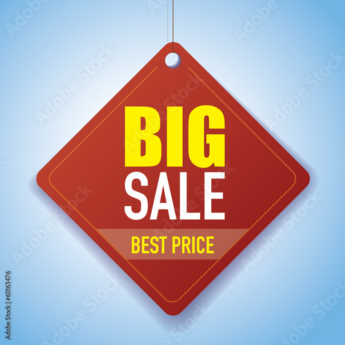 BIG SALE - best price Vector Paper tag / sticker