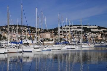Marina of Bandol, France