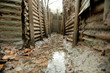 WW1 Trenches, Sanctuary Wood, Ypres, Belgium - 60165622