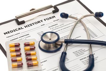 Medical history record