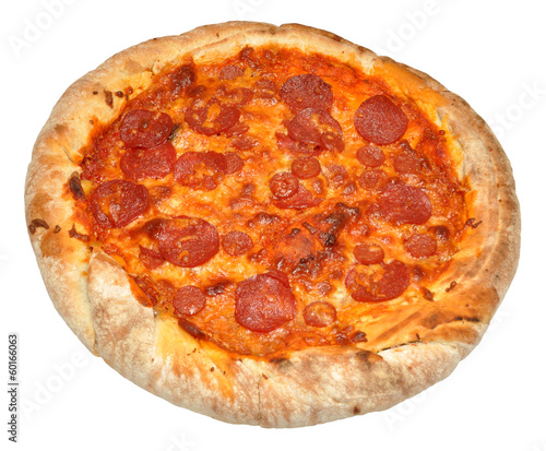 A Whole Pepperoni Pizza