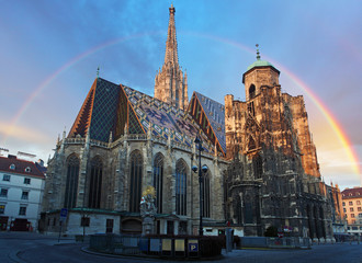 Stephan cathedral in Vienna, Austria