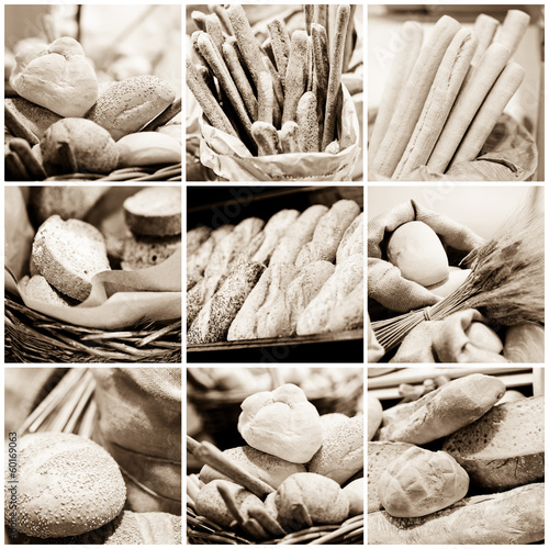 pane e grissini - bread and breadsticks