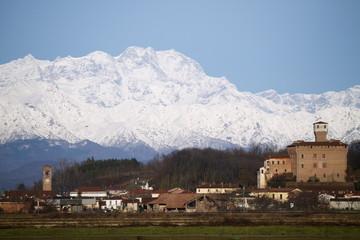 Panoramica sul Monte Rosa