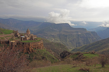 The Tatev monastery, Armenia