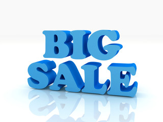 3d big sale word