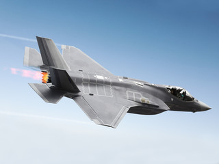 F-35 A Lightning at super sonic speeds