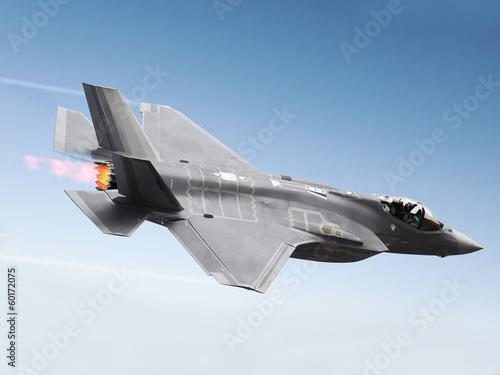 F-35 A Lightning at super sonic speeds