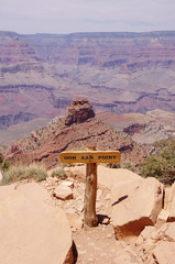 View from Ooh Aah Point in Grand Canyon