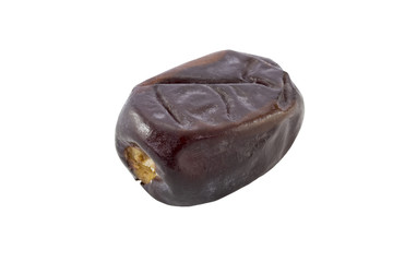 Delicious single pitted date