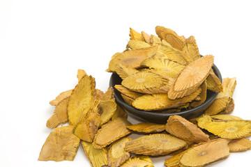 Thai dried  herb and medicinal plant, Coscinium usitatum