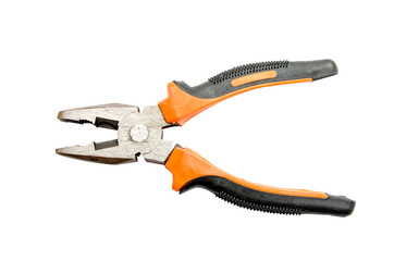 Isolate Orange Pliers tools