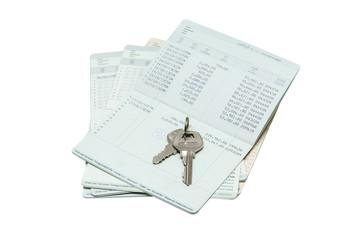 Key on passbook