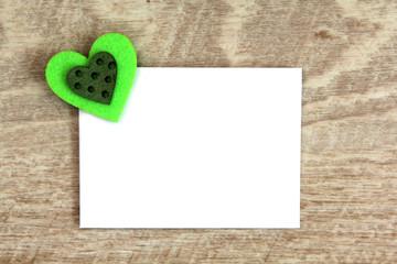 Briefumschlag Detail mit Herz