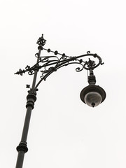 Berlin, Germany. Beautiful street lamp