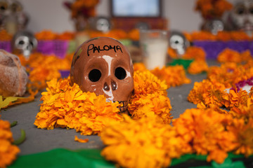 Altar of the dead, Day of the Dead, Mexico