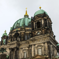 Berlin, Germany. Architecture Berlin Cathedral