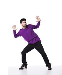 Hip pop dancer