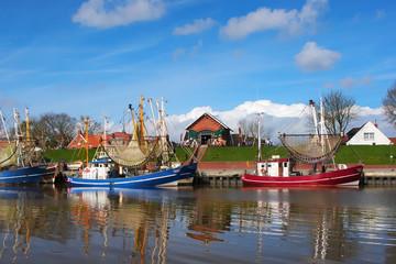 Crabber boats