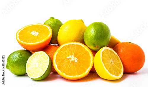 canvas print picture Variety of fruits