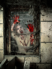 Undead at the window