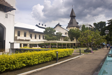 University campus Tha Prachanin Bangkok, Thailand.