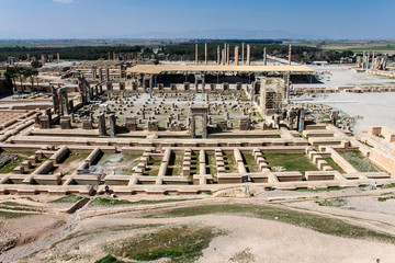 Ruins of ancient Persepolis, Iran.