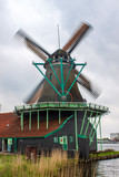 Windmill near Zaanse Schans, Netherlands