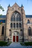 Saint Salvator Cathedral in Bruges, Belgium poster