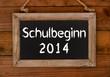 Schulbeginn 2014