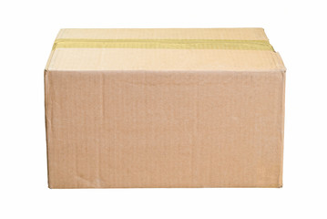 Worn Cardboard Box for your Copy