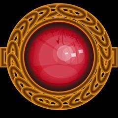 złoty pierścień w okręgu