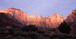 Sunrise High Mountain Buttes Zion National Park Desert Southwest - 60185432
