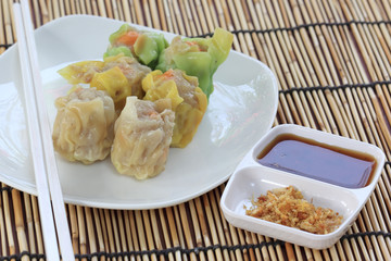 Chinese Streamed Dumpling