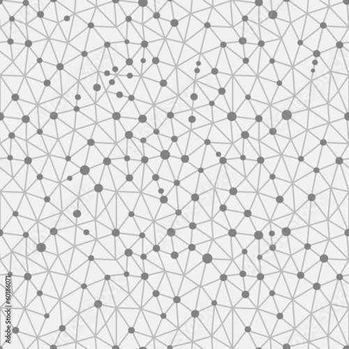 Seamless pattern crystal lattice