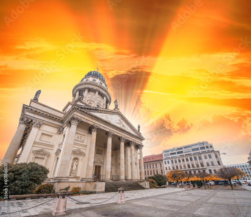Gendarmenmarkt square and buildings, Berlin - Germany