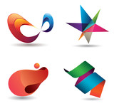 Colorful Modern Icons